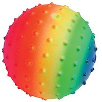 Lot Of 12 Rainbow Theme Knobby Design Playground Kickba