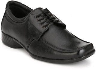 Eego Italy Men'S Black Lace - Up Smart Formal Shoes