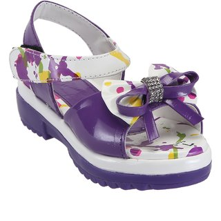 Catbird Girls Purple Sandal