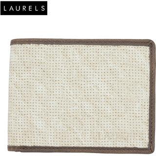 Laurels Dexter Beige Color MenS Wallet (LW-DXTR-0109)