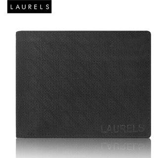 Laurels Dexter Black Color MenS Wallet (LW-DXTR-02)
