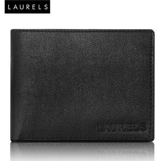 Laurels Corporate Black Color MenS Wallet (LW-CRP-02)