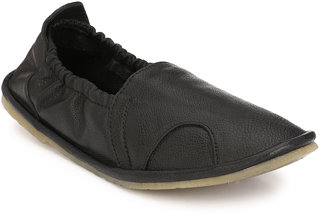 Eego Italy Men'S Black Loafers