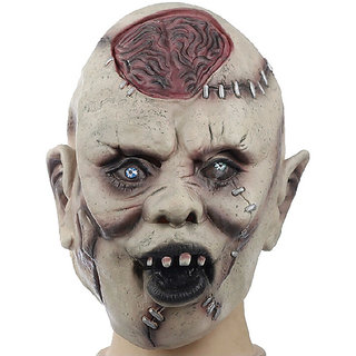 Futaba Halloween Masquerade Latex Brain Brust Cosplay Masks