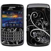 Garskin Protective Skin for BlackBerry Bold 9700 Mobile Phone - Night Overgrowth Design