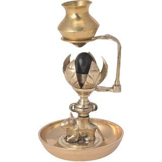 Decorative statue of Shivling abhishek patra handicrafts product by Bharat HaatBH06023