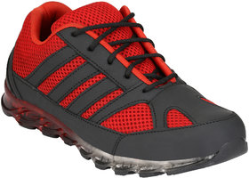 Eego Italy Men'S Red Lace -Up Running Shoes