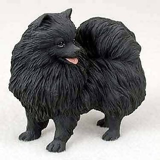 Buy Pomeranian Dog Figurine Black Online Get 17 Off