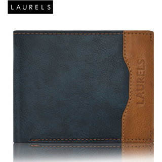 Laurels Tusk Blue Color Men'S Wallet (LW-TSK-0306)