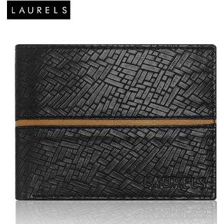 Laurels Titan Black Color MenS Wallet (LW-TT-0209)