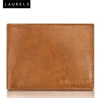 Laurels Aspire Tan Color MenS Leather Wallet (LW-Asp-06)