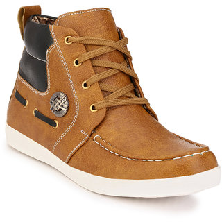 Eego Italy Men'S Brown Lace - Up Boots