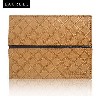 Laurels Cross II Tan MenS Wallet (LW-CRS-II-0602 )