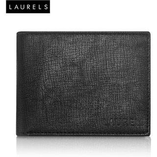 Laurels Cross Black Color MenS Wallet (LW-CRS-02)