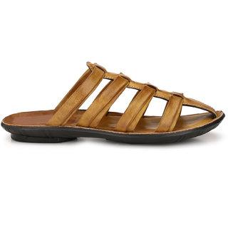 Eego Italy Men'S Brown Slip -On Sandal