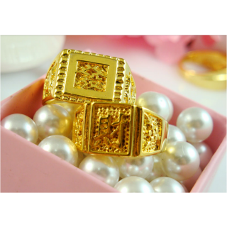 18KT PURE GOLD PLATED RING FOR MEN AT FESTIVAL OFFER PRICE - 4823500