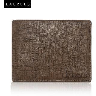 Laurels Cross Black Color MenS Wallet (LW-CRS-09)