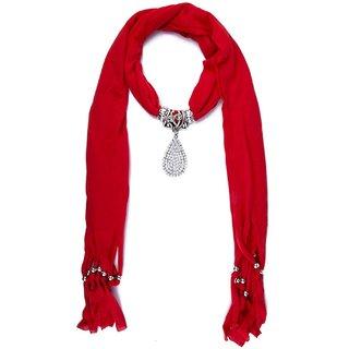 Red stole muffler wrap scarf necklace scarf pendant scarf scarves red stole muffler wrap scarf necklace scarf pendant scarf scarves for girls women ps414stdpdlmrd aloadofball Gallery