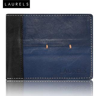Laurels Bloke Blue Color MenS Wallet (LW-BLK-0302)