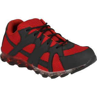 Eego Italy MenS Red Lace - Up Boots