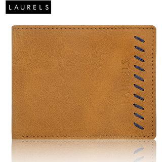 Laurels Signature II Tan Color MenS Wallet (LW-SGN-II-0603)