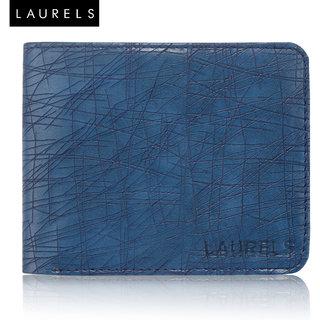 Laurels Hornet Blue Color MenS Wallet (Lw-Hrnt-03)
