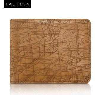 Laurels Hornet Tan Color MenS Wallet (Lw-Hrnt-06)