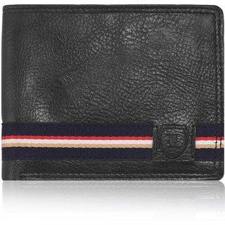 Laurels Aristocrat Black Color MenS Wallet (Lw-Ast-02)