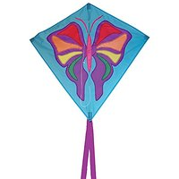 In The Breeze Butterfly Diamond Kite, 30-Inch