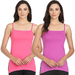Pack of 2 Long Length Camisole