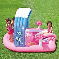 "Intex Hello Kitty Inflatable Play Center 83"" X 64"" X 47"