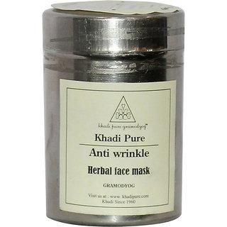 Khadi Pure Herbal Anti Wrinkle Face Mask - 50g