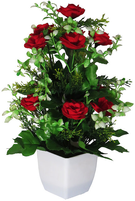 274 & Artificial Flower with vase