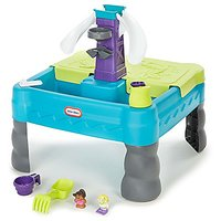 Little Tikes Sandy Lagoon Waterpark Play Table, Teal/Gr