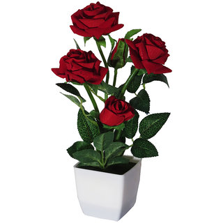 225 & Artificial Flower with vase