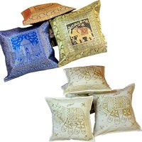 Buy Cushion Cover Set N Get Cushion Cover Set Free Design 7 COMB160