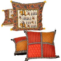 Buy Cushion Cover Set N Get Cushion Cover Set Free Design 24 COMB262