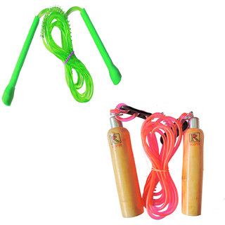 RIPR Switzerland combo (Wooden skipping rope and pencil skipping rope)
