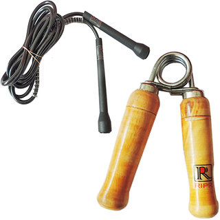 RIPR Like combo (Hand Gripper and pencil skipping rope)