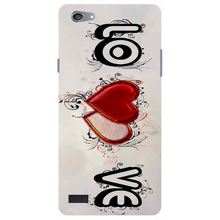 PREMIUM QUALITY PRINTED BACK CASE COVER FOR OPPO NEO7 (A33F) DESIGN ALPHA 1006