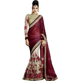 DRD designer pallu saree