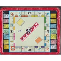 Monopoly Game Lunch Box Cookie Tin