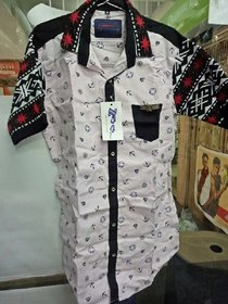 Size - M  (slim fit) ///Fabirc Cotton With Imported Hosiery Sleeves