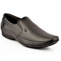 Lee Cooper Men'S Black Leather Formal Shoes