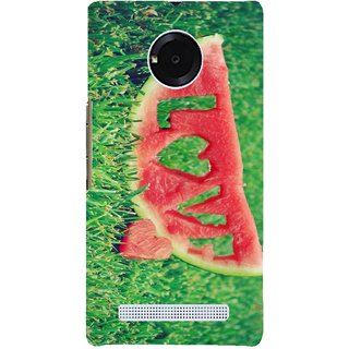 High Quality Printed Designer Back Cover Compatible For YU Yuphoria