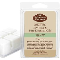 MINTY 2.5oz Of 100% Pure & Natural Soy Candle Meltie/Ta