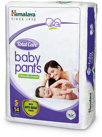 Himalaya Total Care Baby Diaper Pants 54's (Small)