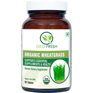 Organic Wheat Grass Tablet ( 90 Tablets ) - 500 mg