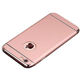 best service 3613b 34dfd iPhone 6 Plus Case, iPhone 6s Plus Case, 3 in 1 Shockproof Thin Hard  Protective Case Cover for iPhone 6 Plus iPhone 6s Plus (Rose Gold)