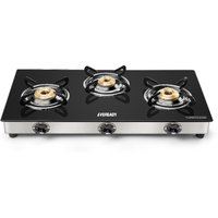 Eveready TGC 3B 3 Burner Manual Gas Stove
